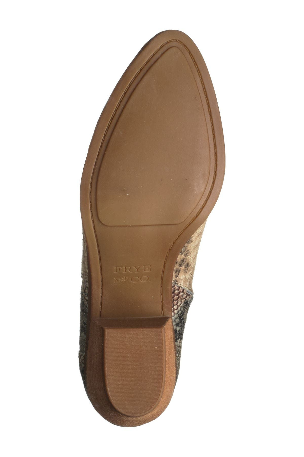 Image of Frye & Co Jacy Chelsea Snake Embossed Boot