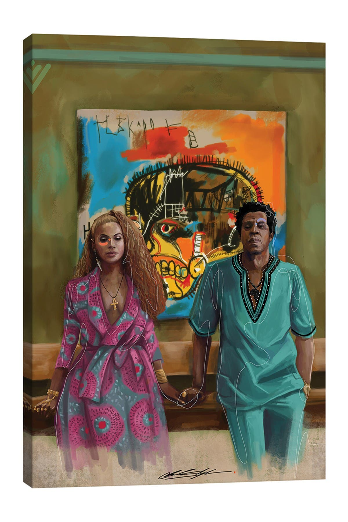Image of iCanvas BHM The Carter's by Chuck Styles
