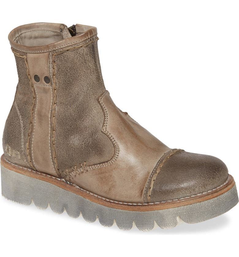 BED STU Lea Wedge Bootie, Main, color, TAUPE