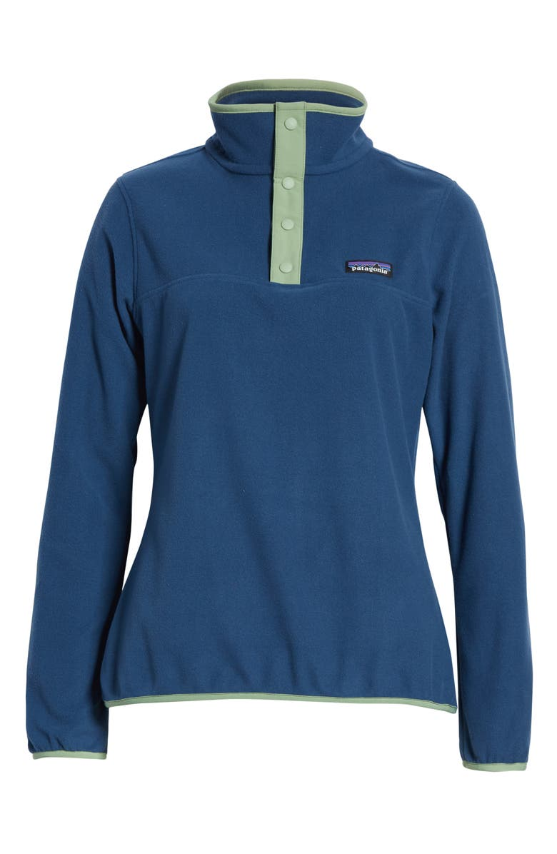 PATAGONIA Micro-D<sup>®</sup> Snap-T<sup>®</sup> Fleece Pullover, Main, color, STONE BLUE