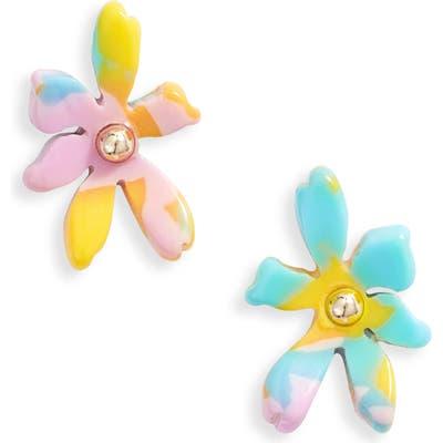 Lele Sadoughi Paper Lily Stud Earrings
