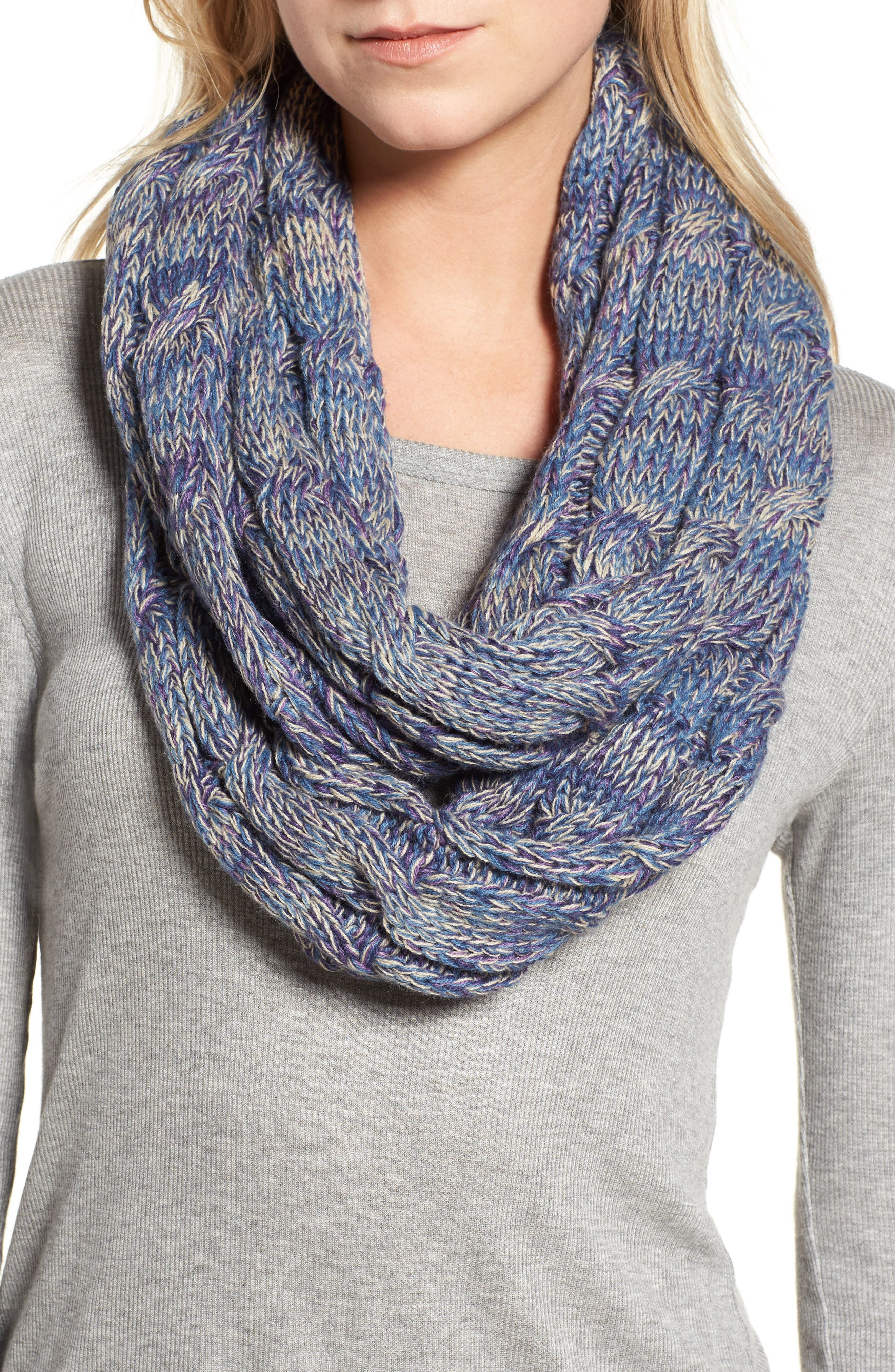 ,                             CC Knit Infinity Scarf,                             Main thumbnail 8, color,                             500