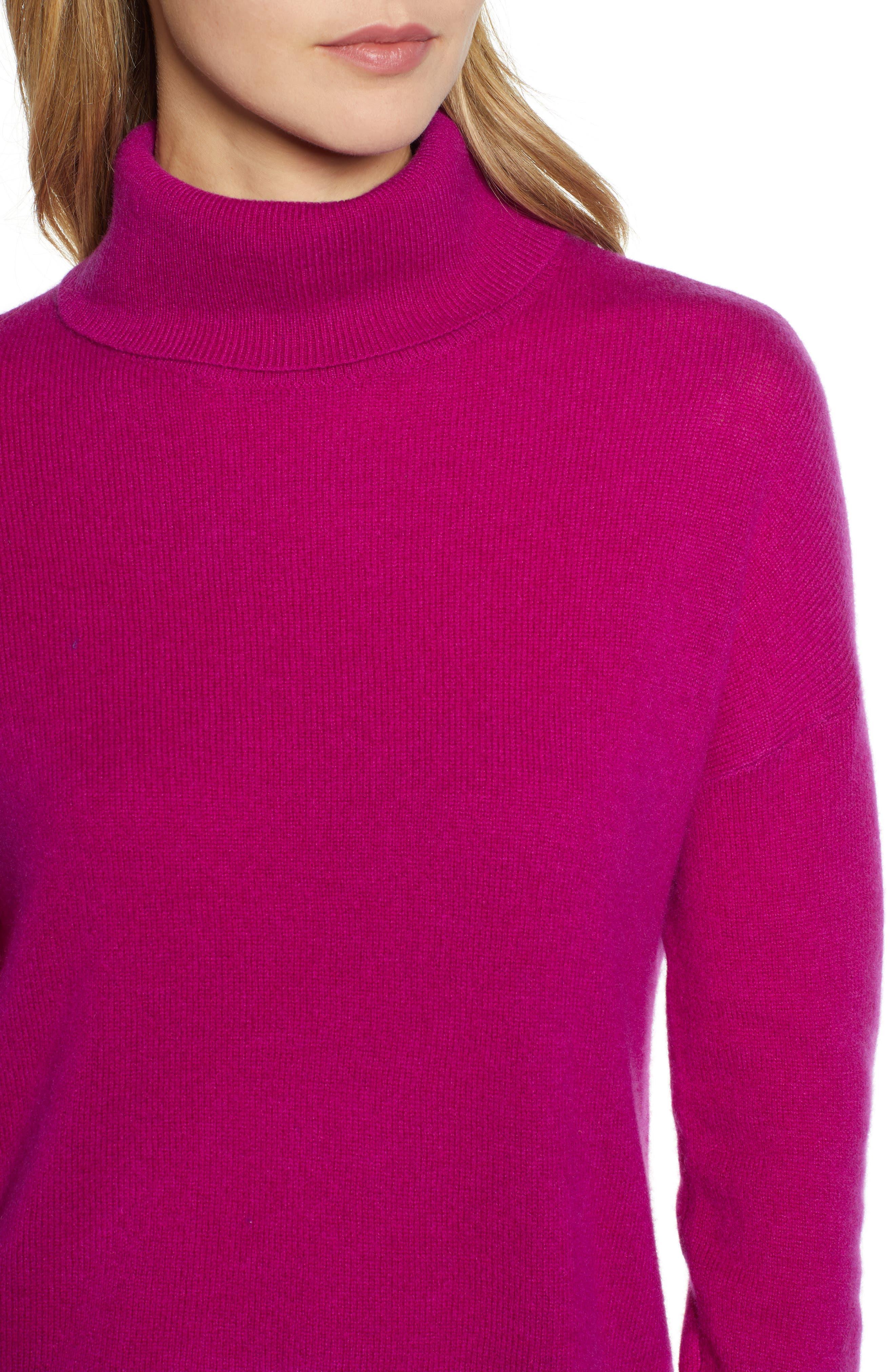,                             Cashmere Turtleneck Sweater,                             Alternate thumbnail 46, color,                             651