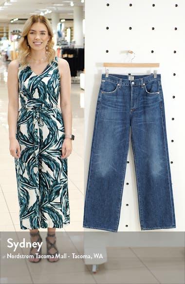 Flavia High Waist Wide Leg Jeans, sales video thumbnail