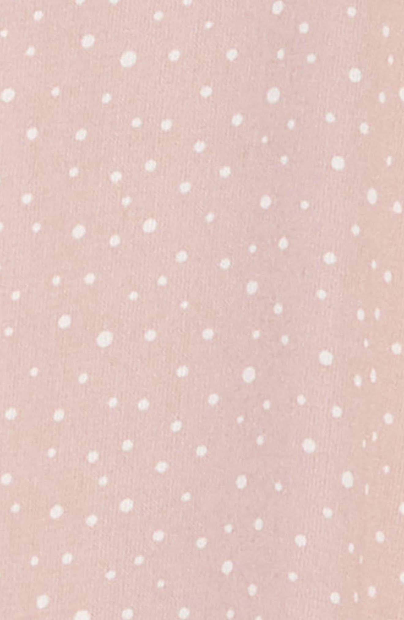,                             Flutter Sleeve Dress,                             Alternate thumbnail 3, color,                             PINK