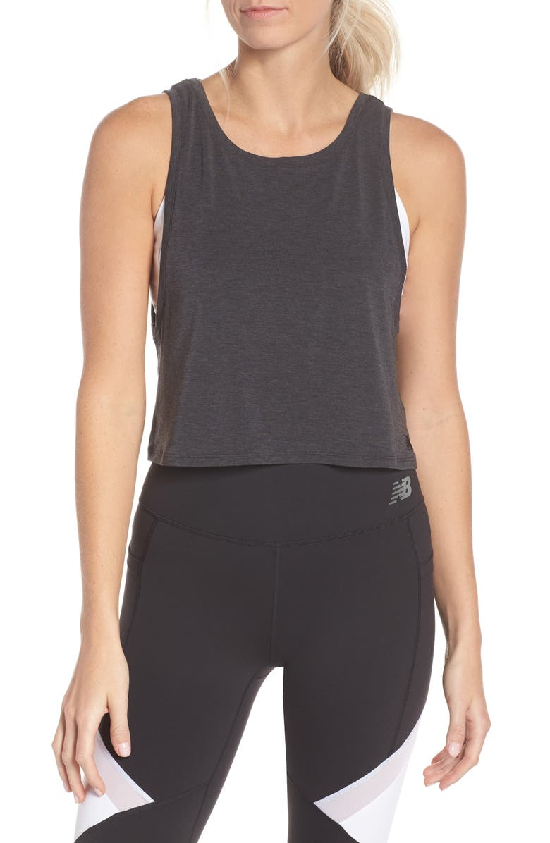 NEW BALANCE Transform Two-Way Crop Tank, Main, color, 003