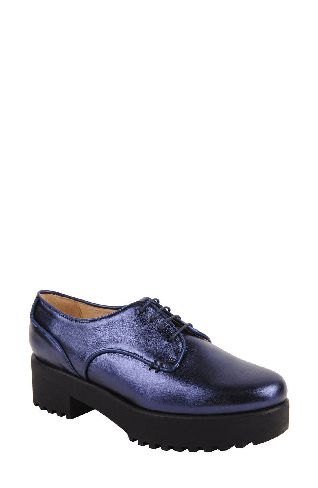 Ukies Andrea Lug Oxford- Blue