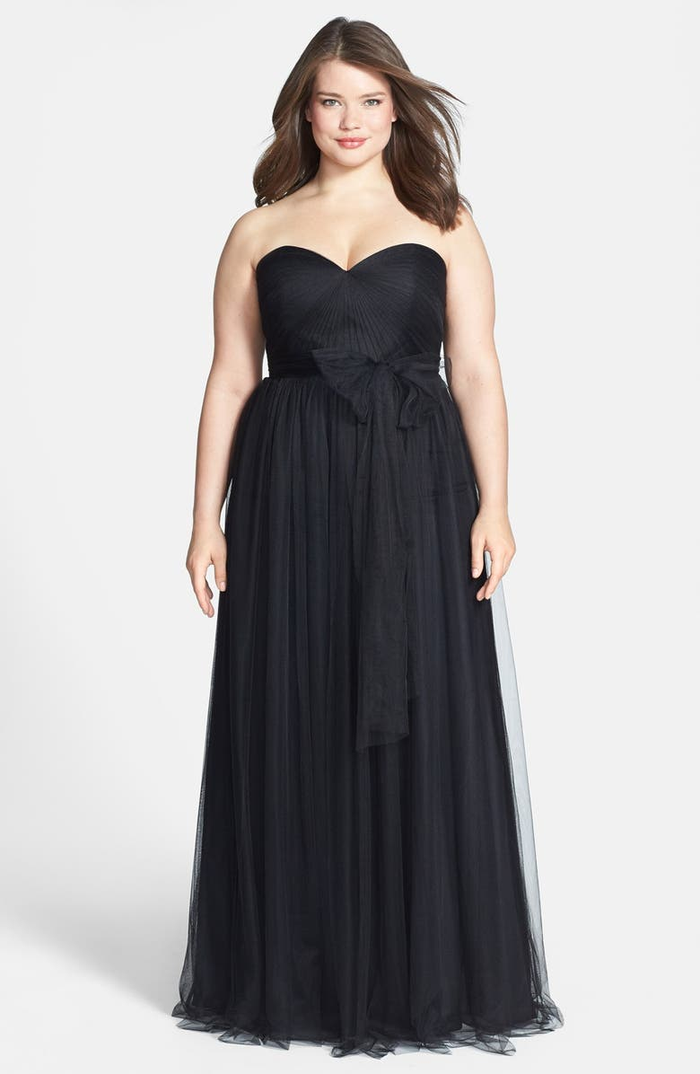 Annabelle Convertible Tulle Column Dress