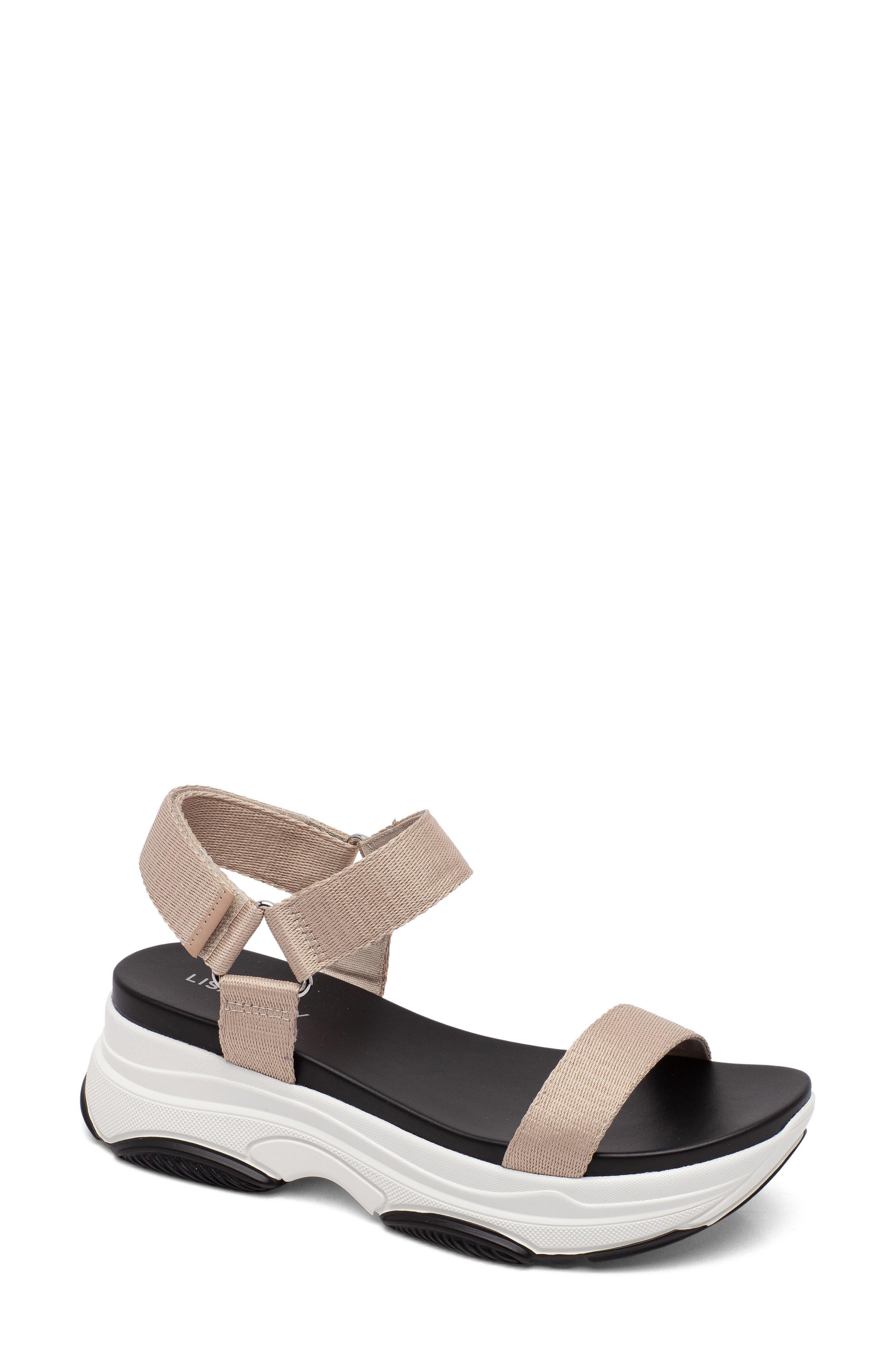 Gameon Strappy Platform Sandal