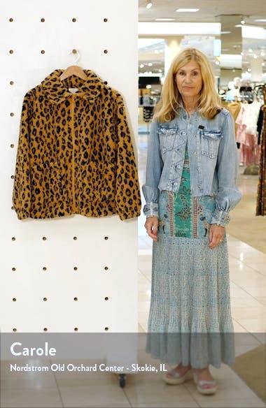 Long Road Faux Fur Jacket, sales video thumbnail