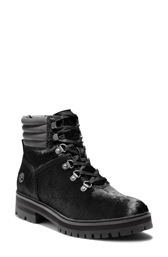 Timberland Women's London Hiker Boots Women's Shoes In Black Leather