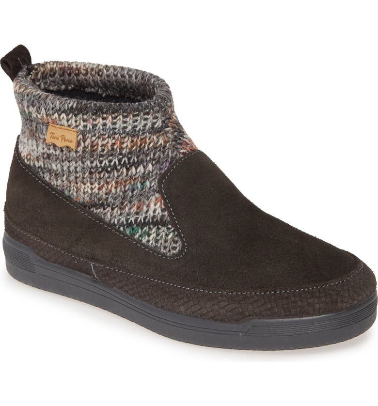TONI PONS Gigi Wool Shaft Bootie, Main, color, GREY SUEDE