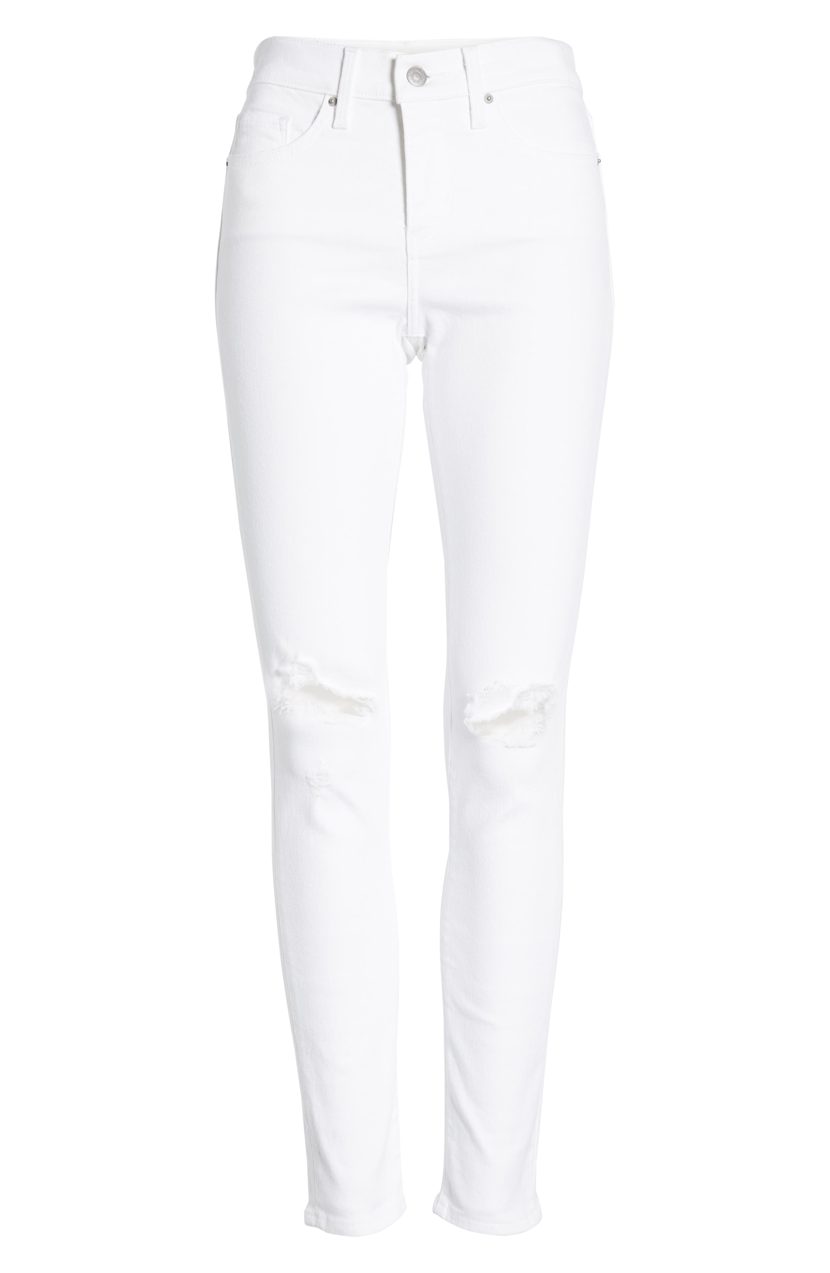 ,                             311<sup>™</sup> Shaping Skinny Jeans,                             Alternate thumbnail 5, color,                             WHITE SLATE