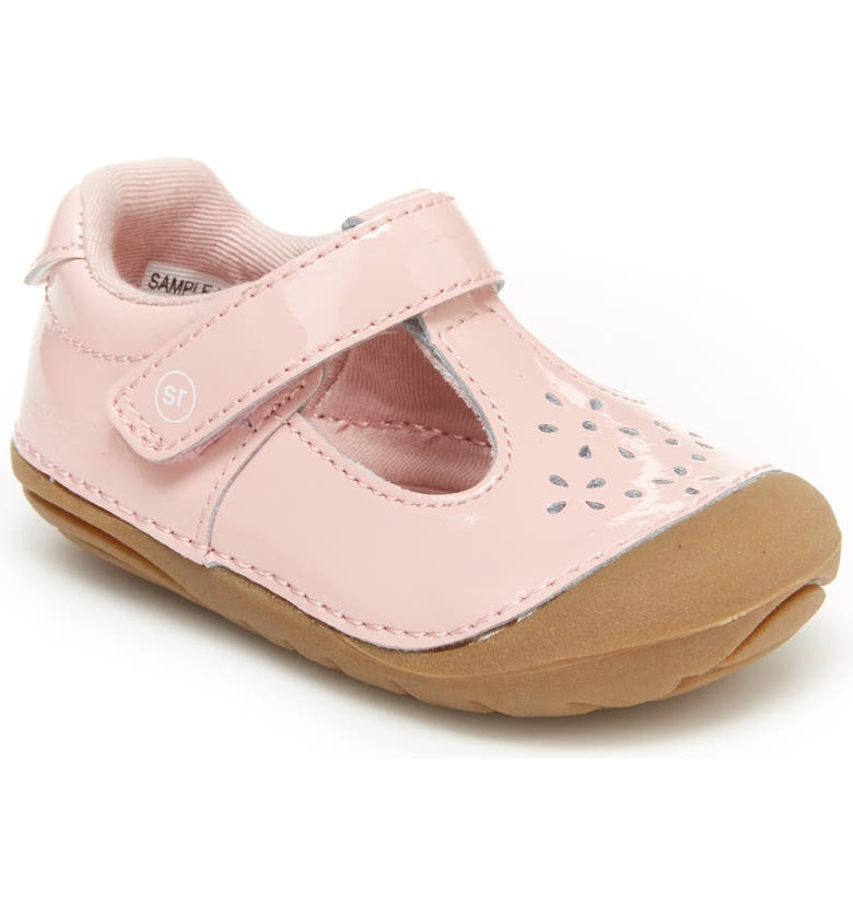 STRIDE RITE Soft Motion<sup>™</sup> Amalie T-Strap Flat, Main, color, PINK