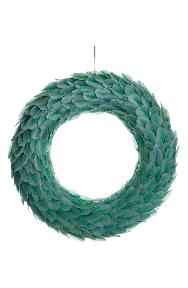 ALLSTATE Feather Wreath, Main, color, 300