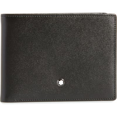 Montblanc Bifold Leather Wallet - Black