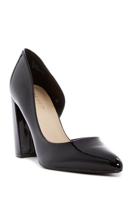 Image of Nine West Anisa d'Orsay Block Heel Pump - Wide Width Available