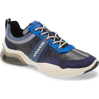 Coach Citysole Signature Runner Sneaker - Blue