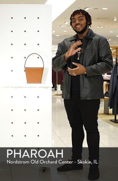 Edie Leather Bucket Bag, sales video thumbnail