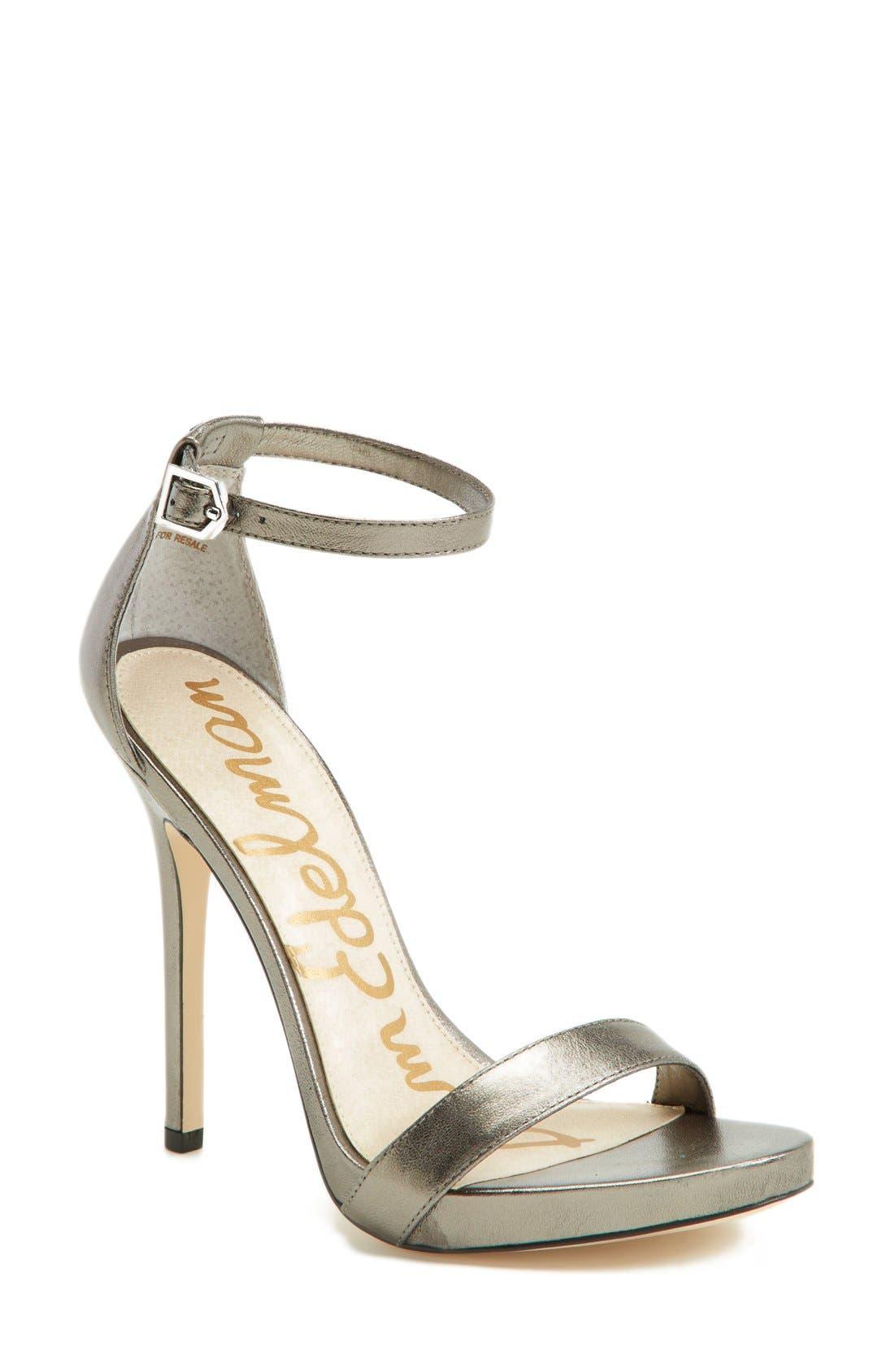 ,                             'Eleanor' Ankle Strap Sandal,                             Main thumbnail 61, color,                             040