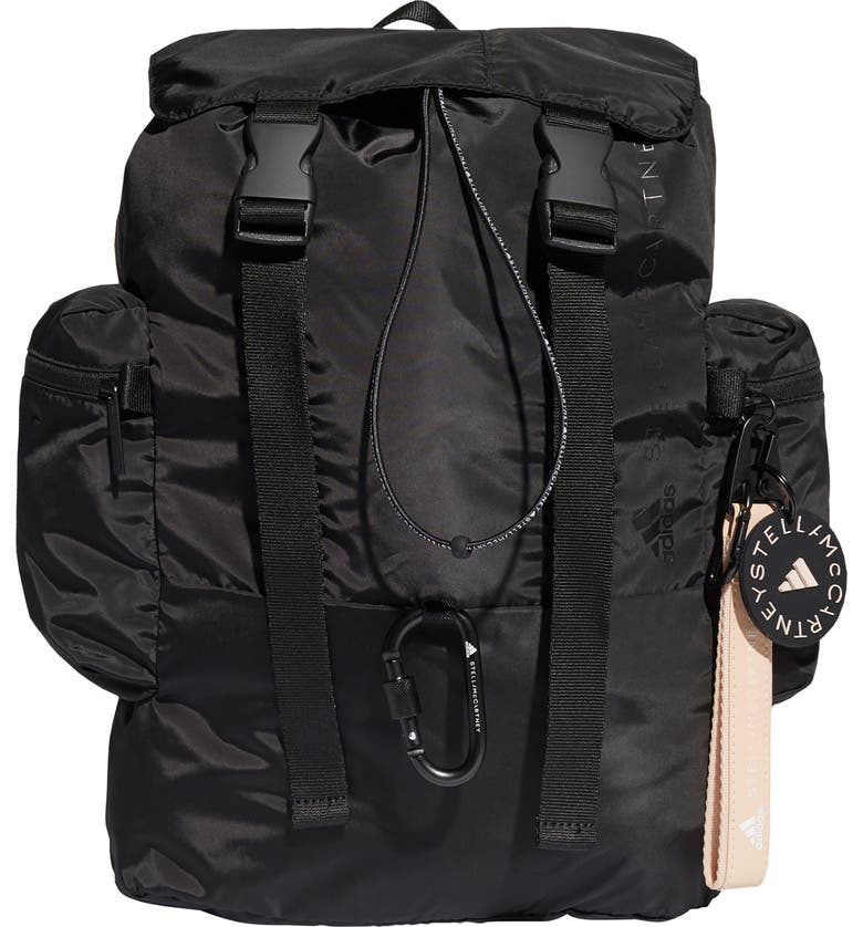 ADIDAS BY STELLA MCCARTNEY Backpack, Main, color, BLACK/ WHITE/ APSIOR