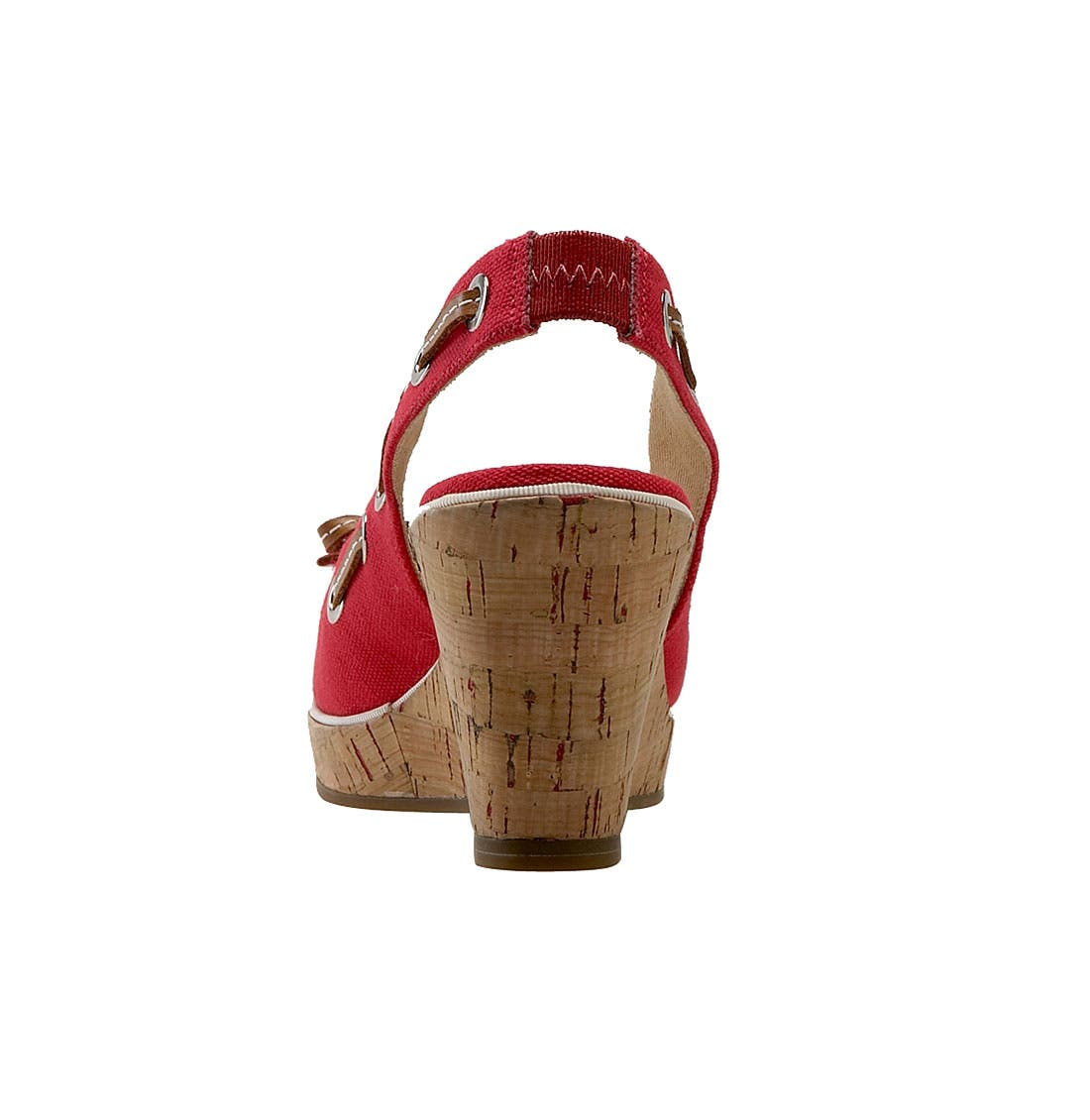 ,                             Top-Sider<sup>®</sup> 'Southport' Slingback Wedge,                             Alternate thumbnail 14, color,                             600