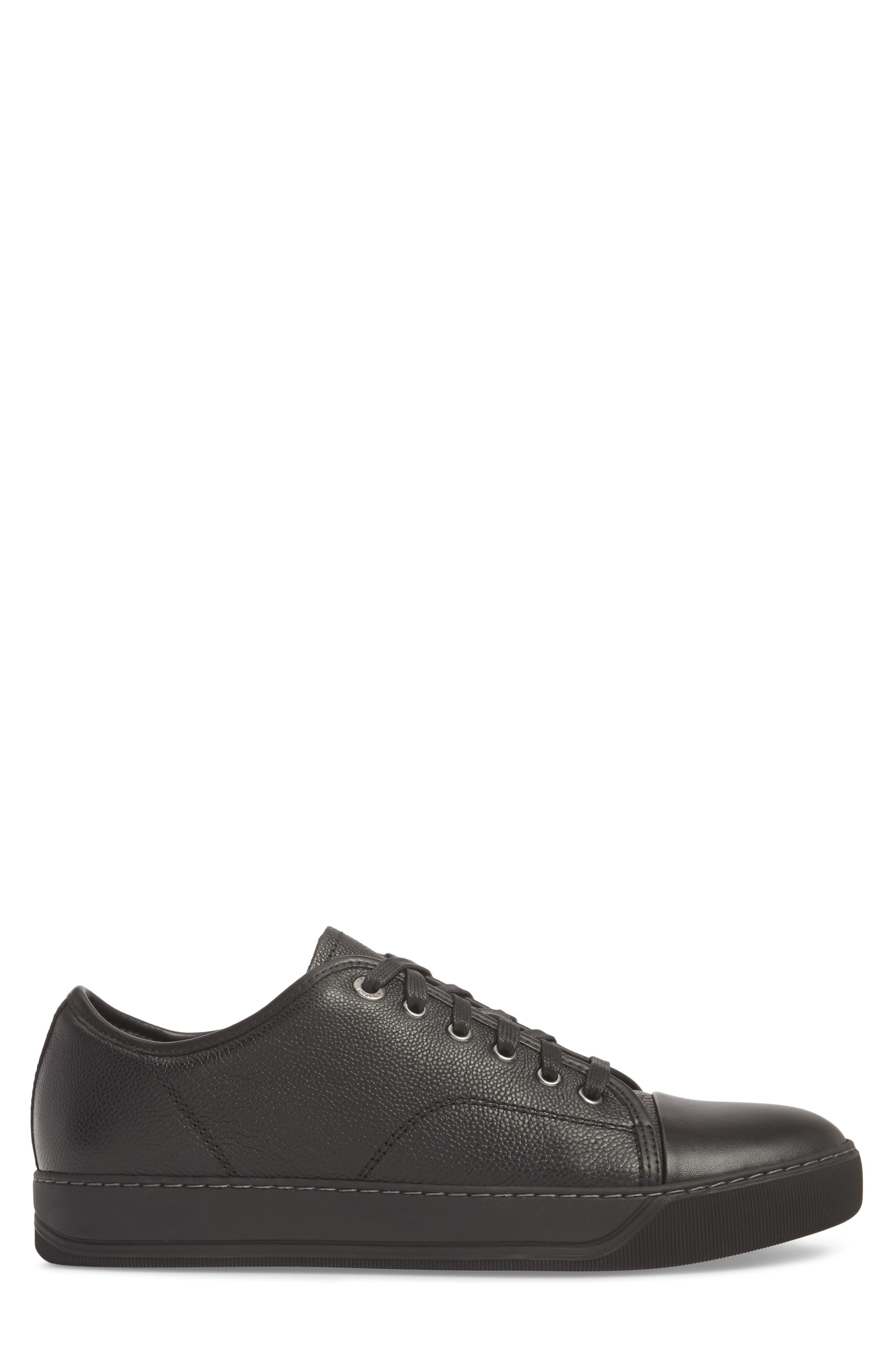 ,                             Shiny Cap Toe Sneaker,                             Alternate thumbnail 3, color,                             001
