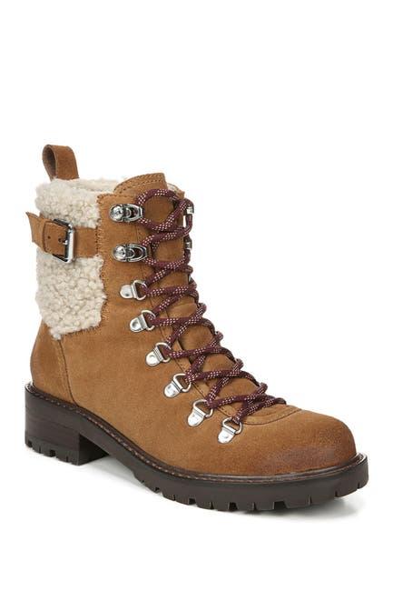 Image of Sam Edelman Tenlee Faux Fur Trim Hiker Boot