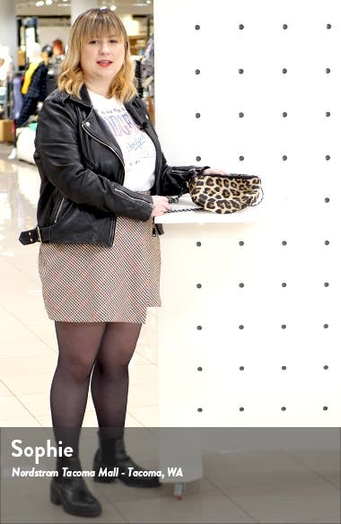 Animal Print Convertible Belt Bag, sales video thumbnail