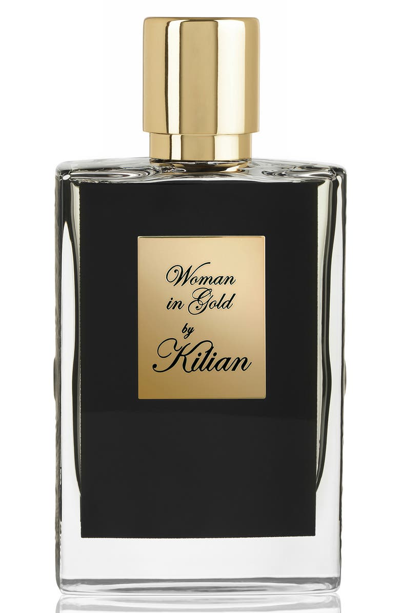 KILIAN Woman in Gold Collectors Edition Refillable Perfume Spray, Main, color, 000