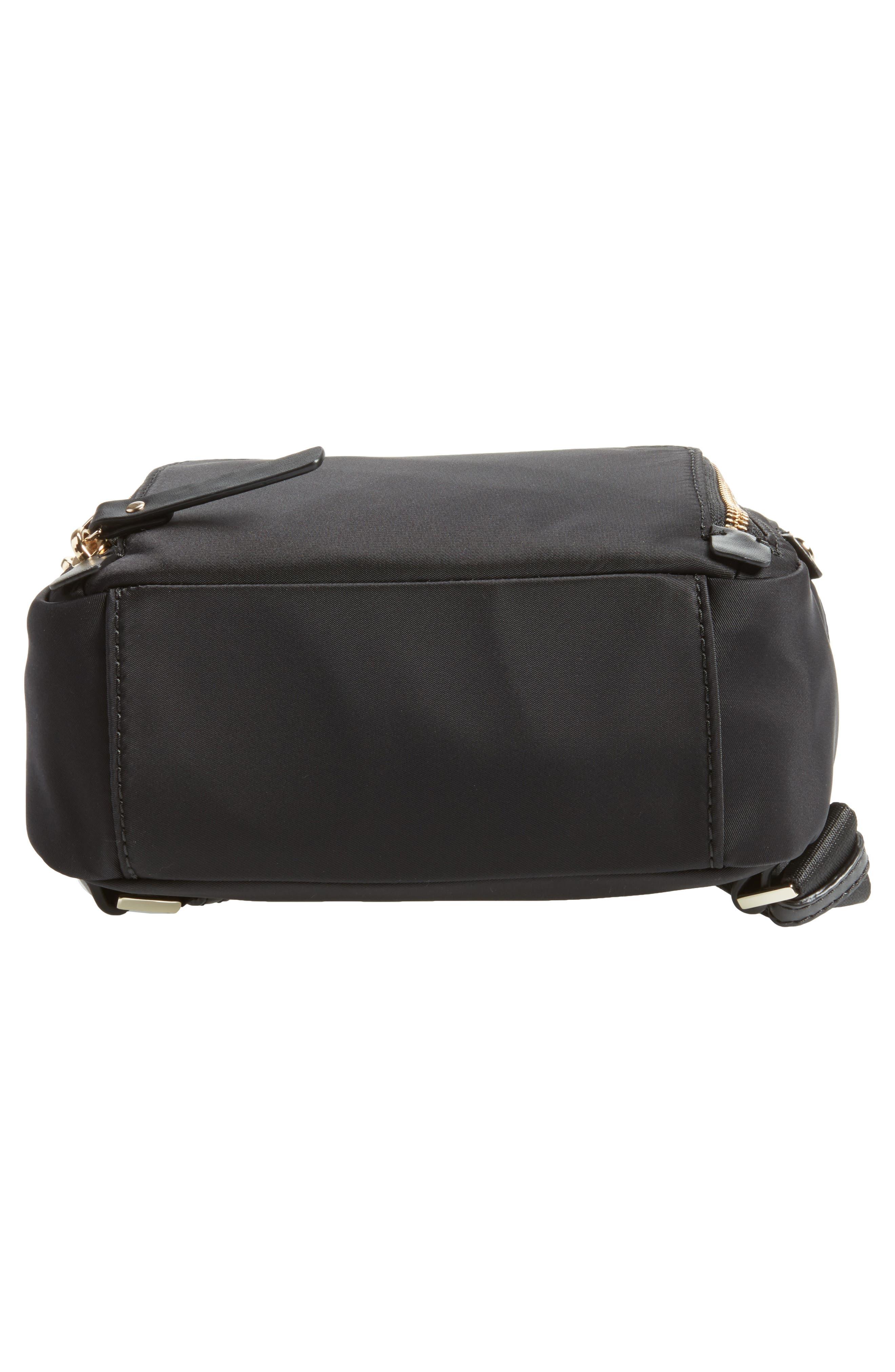 ,                             watson lane - small hartley nylon backpack,                             Alternate thumbnail 7, color,                             BLACK