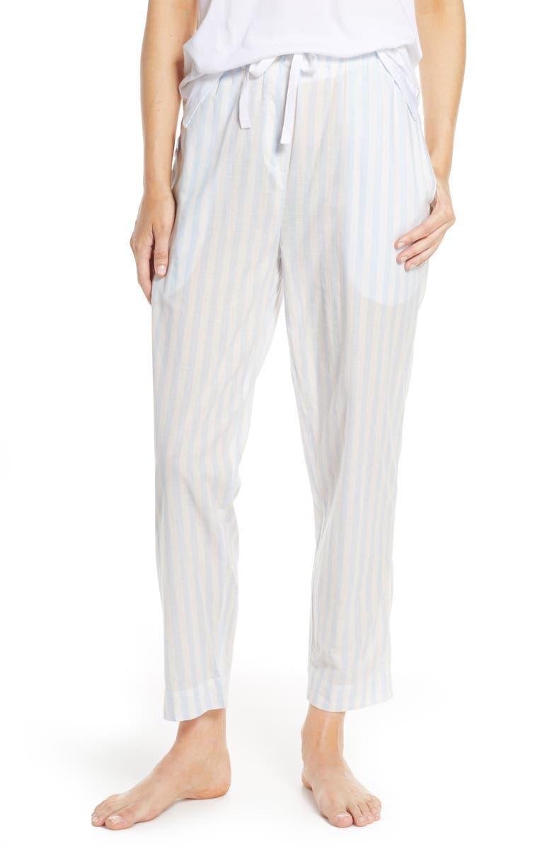 PAPINELLE Whale Beach Stripe Pajama Pants, Main, color, 400