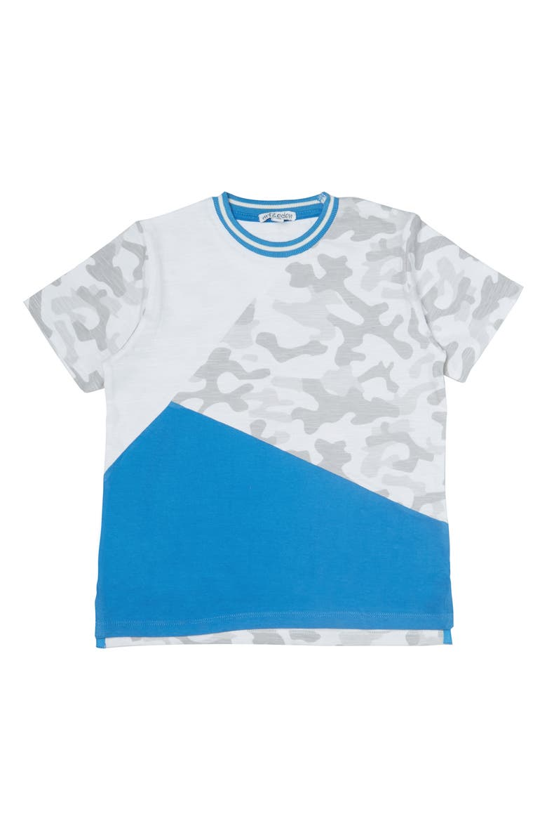 ART & EDEN Riley Organic Cotton T-Shirt, Main, color, SPRING CAMO