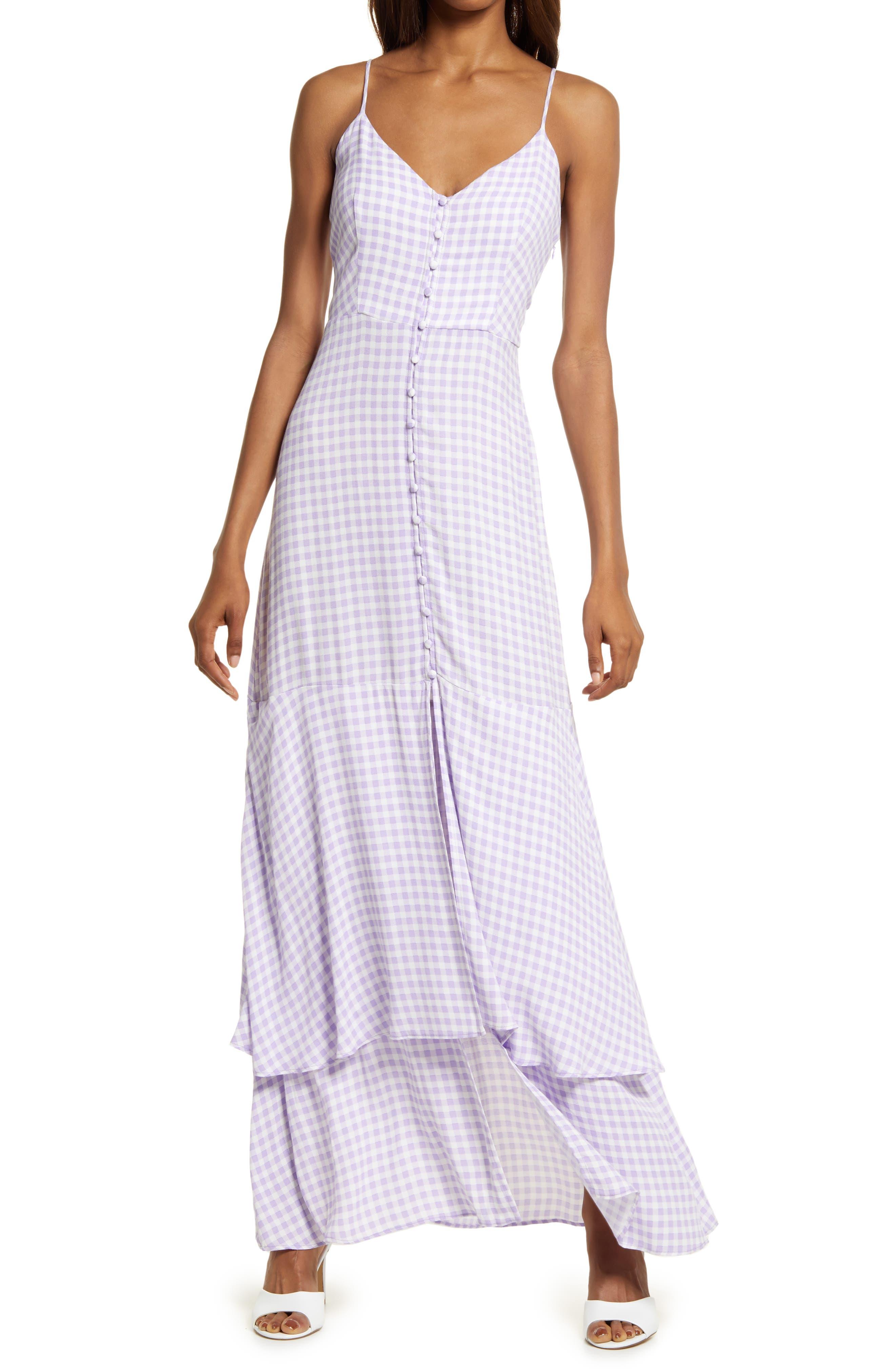 Nella Print Sleeveless Maxi Dress