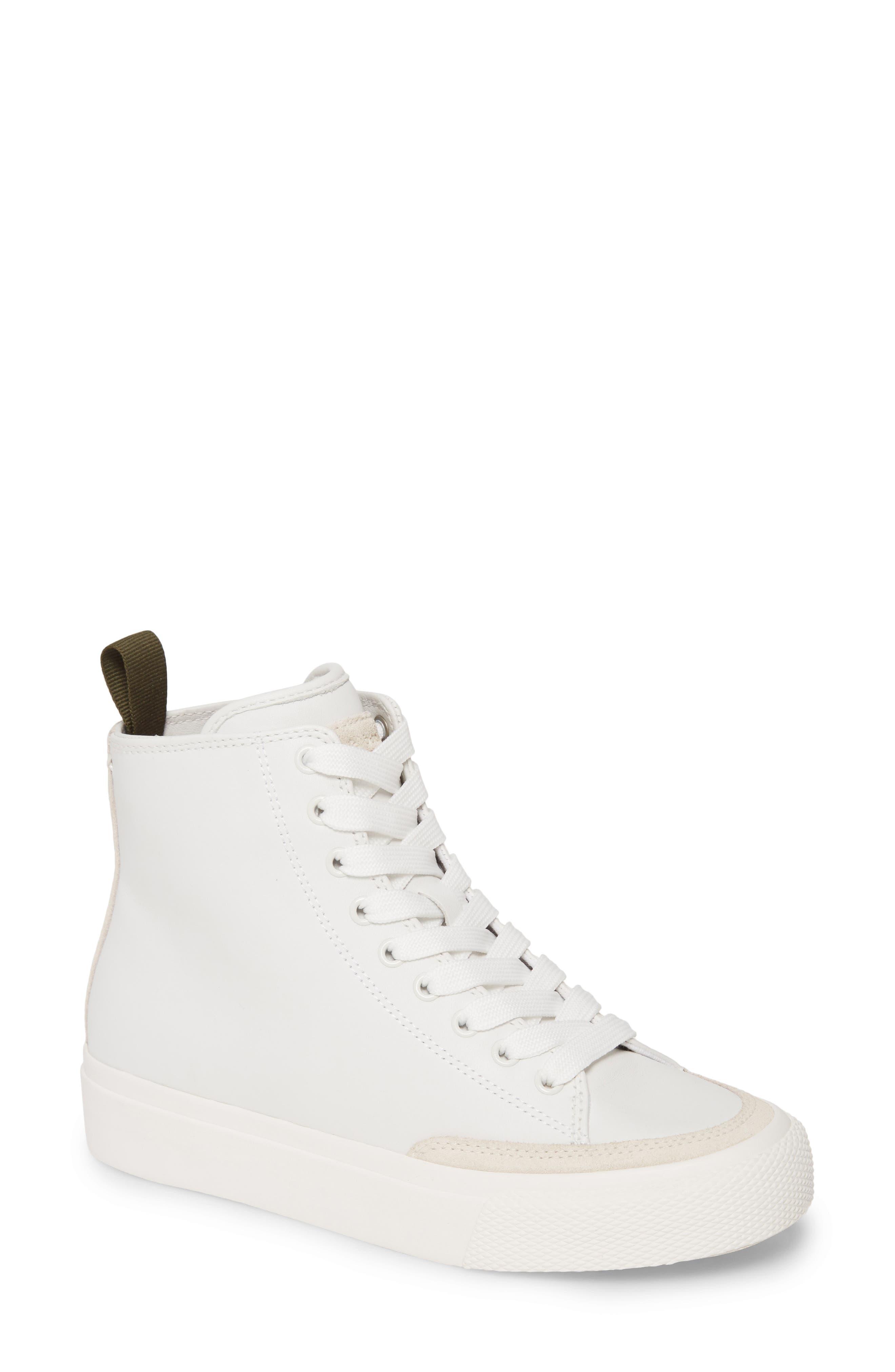 Image of Rag & Bone Army Snake Embossed High Top Sneaker