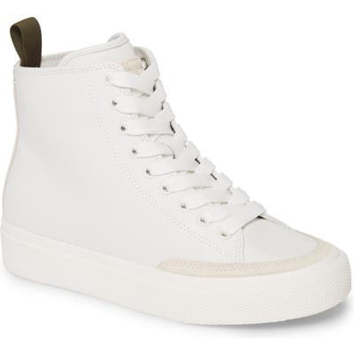 Rag & Bone Army High Top Sneaker, White