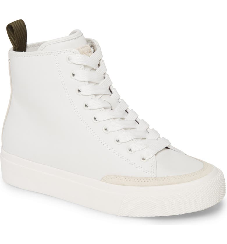 RAG & BONE Army High Top Sneaker, Main, color, WHITE