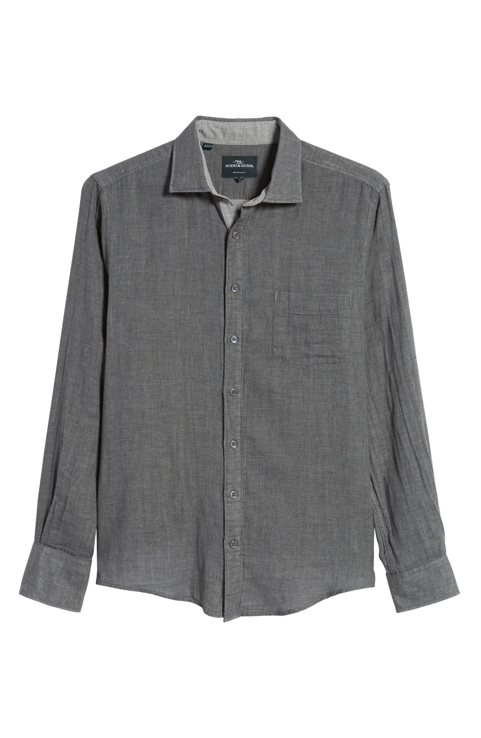 Couston Park Regular Fit Cotton Button-Up Shirt RODD & GUNN