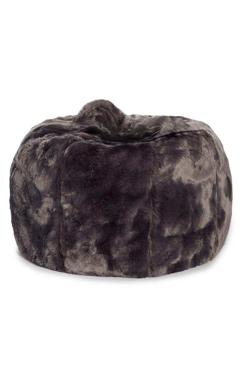 Awe Inspiring Cuddle Up Faux Fur Beanbag Chair Creativecarmelina Interior Chair Design Creativecarmelinacom