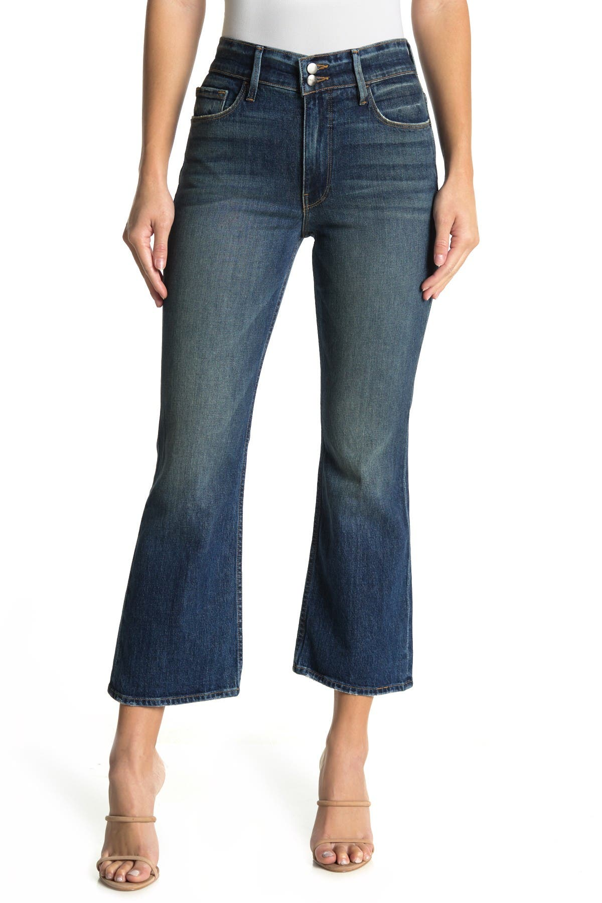 Image of FRAME Heritage Sylvie Flare Leg Jeans
