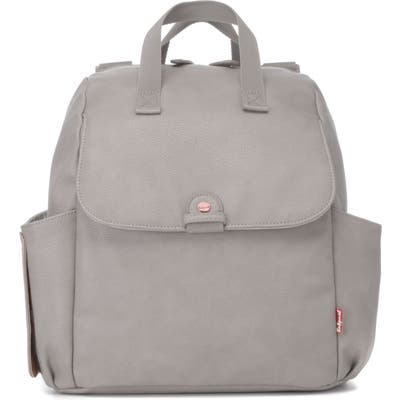 Babymel Robyn Convertible Faux Leather Diaper Backpack -