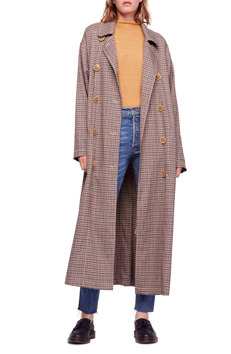 FREE PEOPLE Melody Trench Coat, Main, color, 200