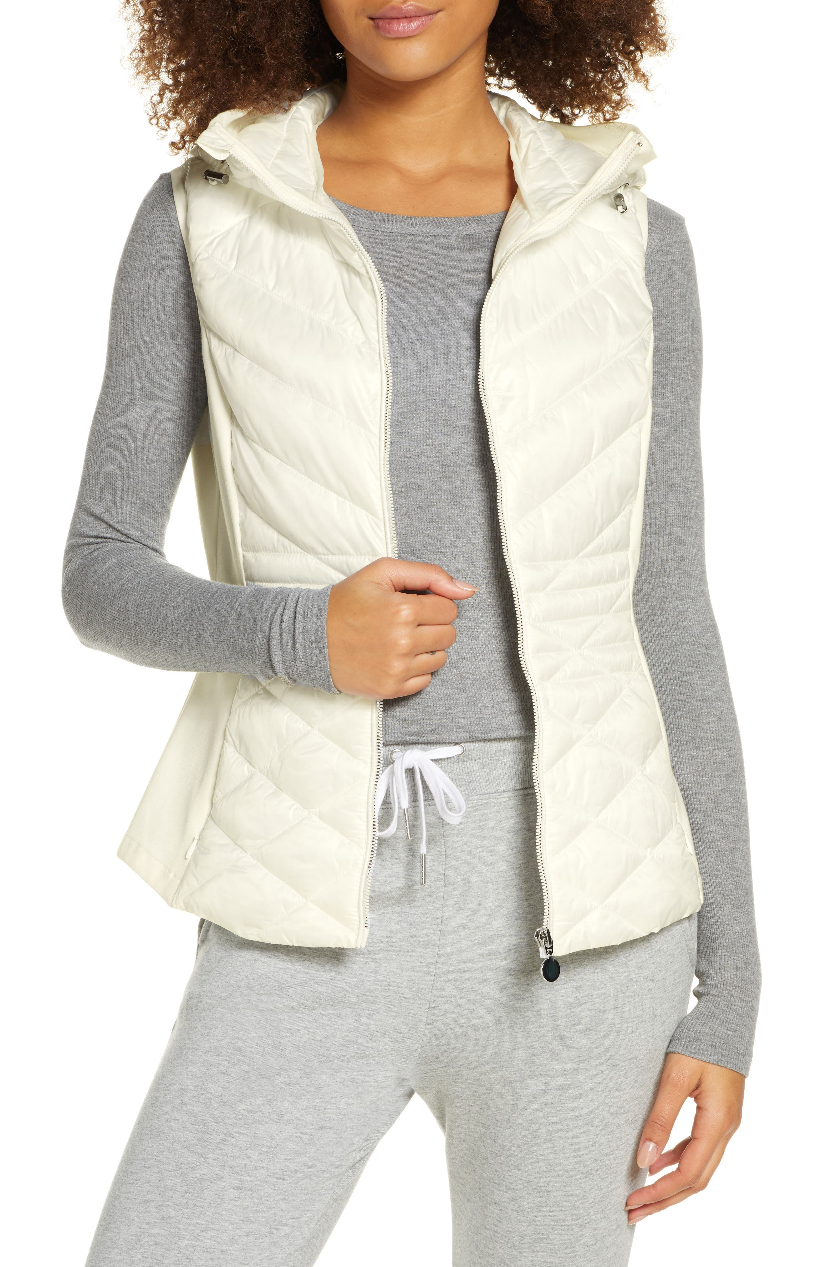 Zella Hybrid Quilted Performance Vest