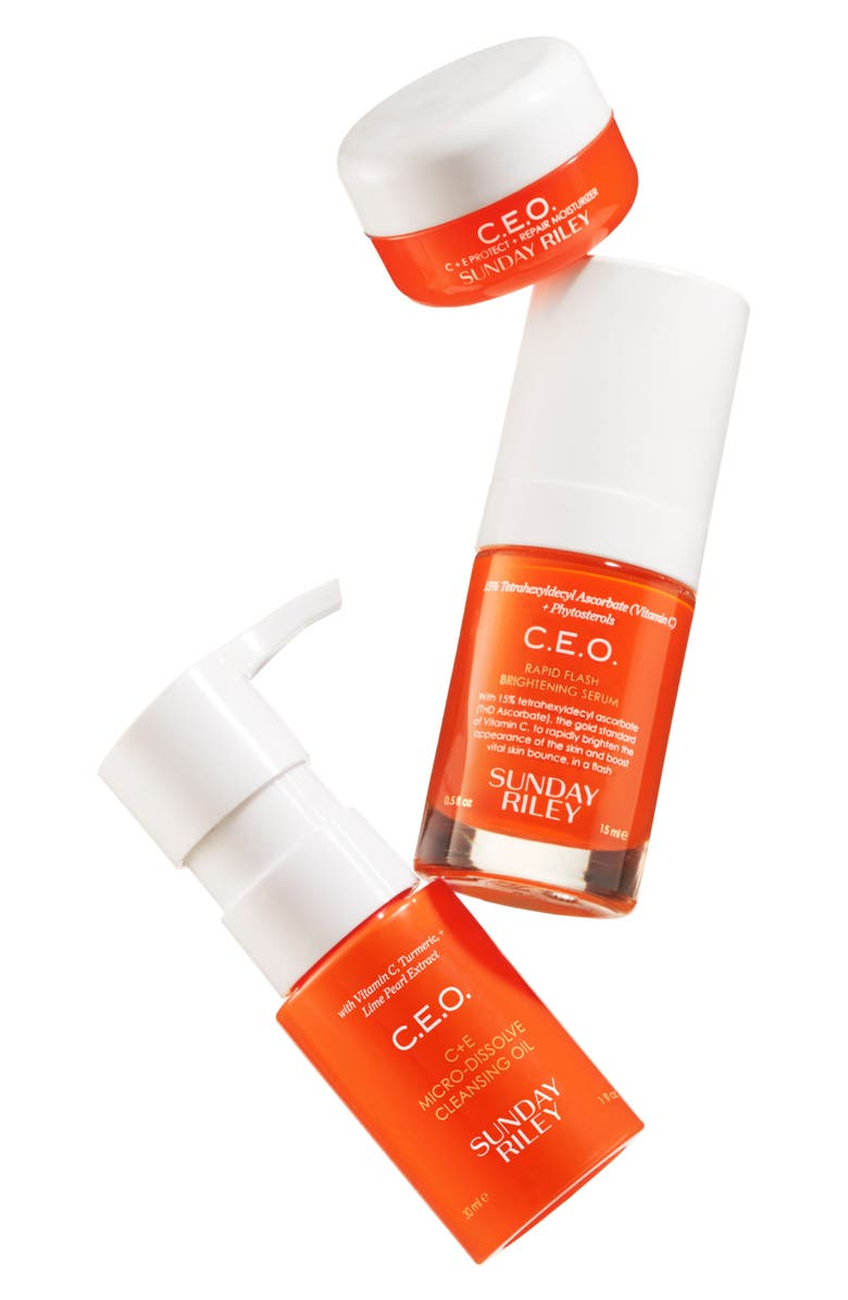 SUNDAY RILEY SPACE.NK.apothecary Sunday Riley C.E.O. Vitamin C Set, Main, color, 000