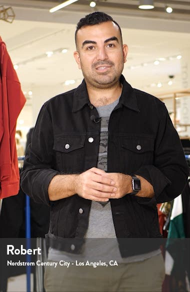 Flexo Uptown Slim Fit Stretch Wool Sport Coat, sales video thumbnail