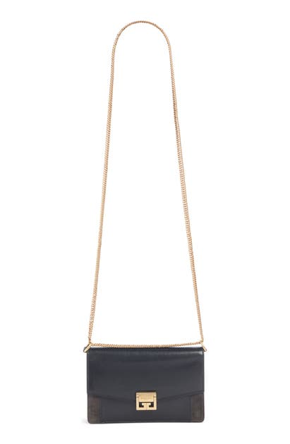 GIVENCHY GV3 LEATHER WALLET ON A CHAIN