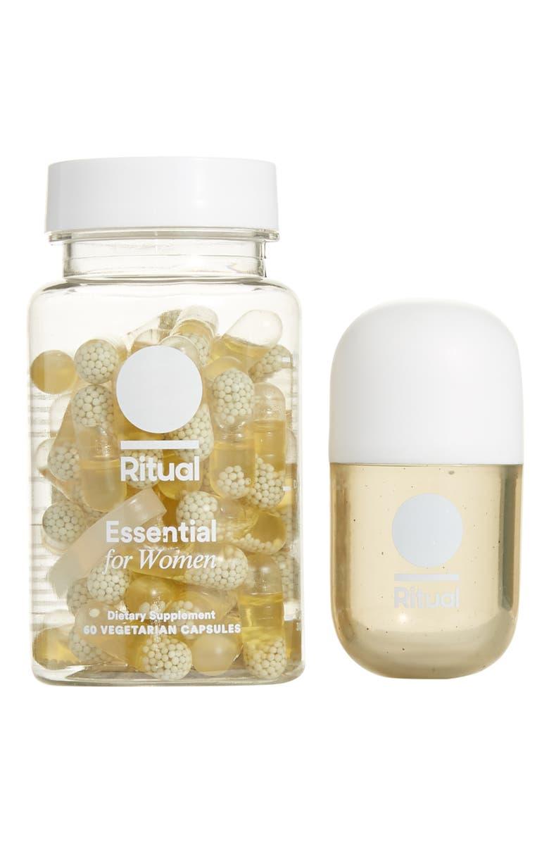 RITUAL Essential for Women Multivitamin, Main, color, 100