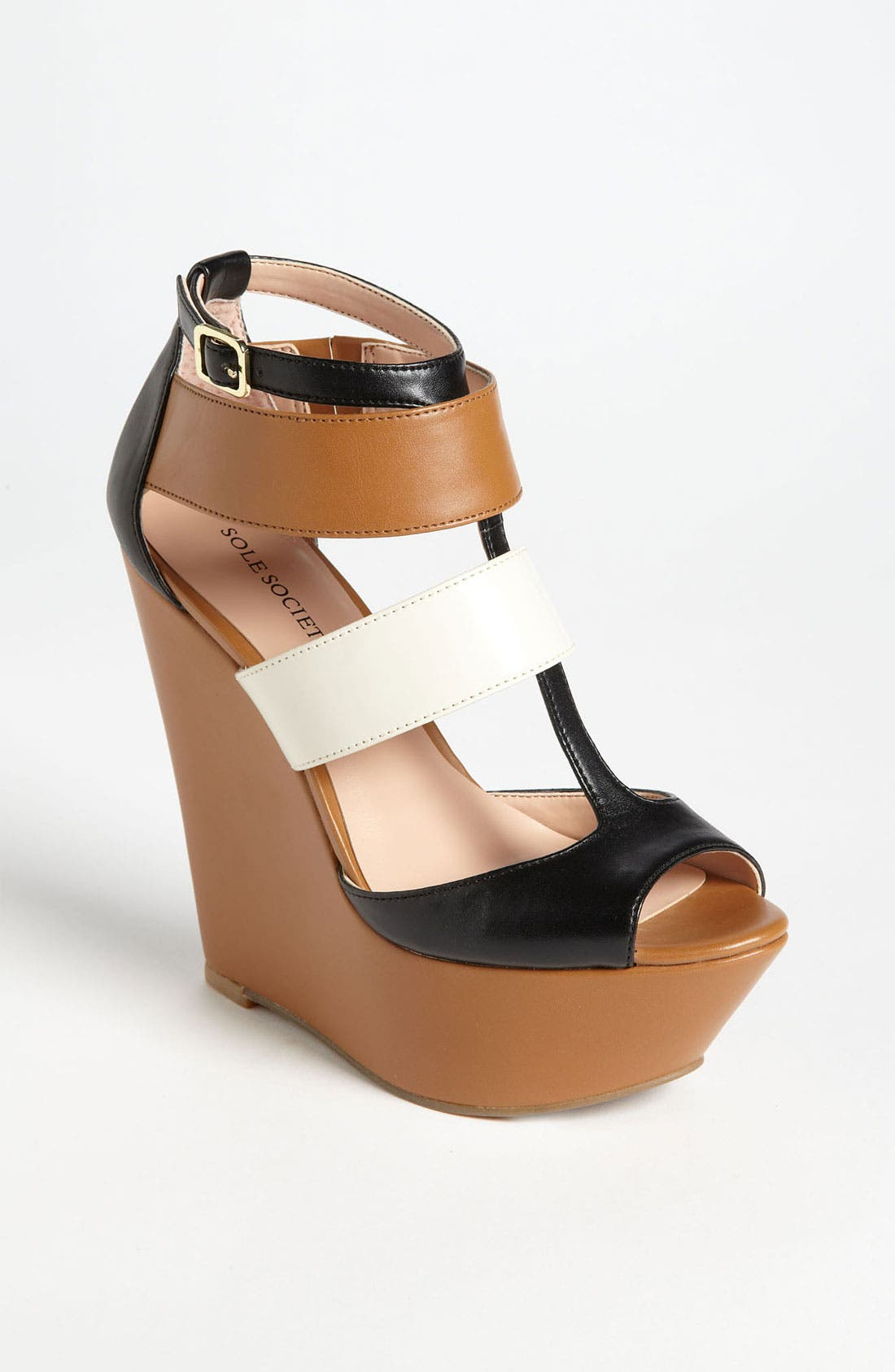 'Emma' Wedge Sandal, Main, color, 200