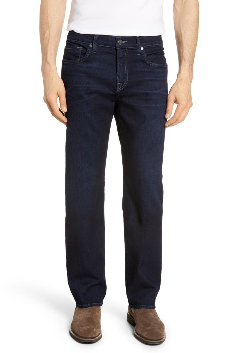 7 FOR ALL MANKIND<SUP>®</SUP> Austyn Relaxed Straight Leg Jeans, Main, color, TIETON