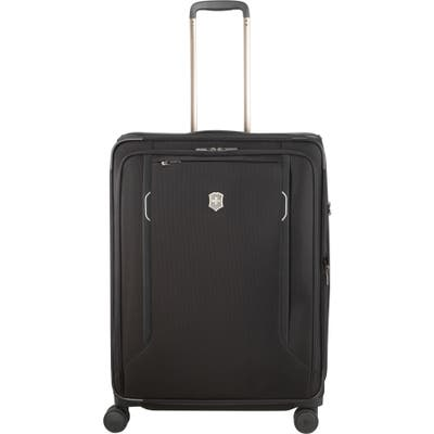 Victorinox Swiss Army Werks 6.0 Large 28-Inch Spinner Packing Case - Black